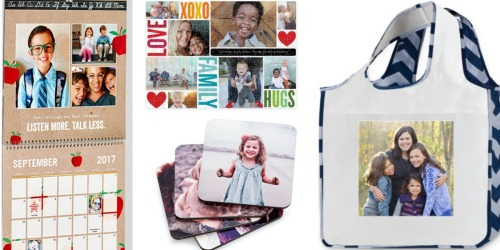 Shutterfly: TWO Free Personalized Coasters, Calendars, Puzzles or Bags (Just Pay Shipping)