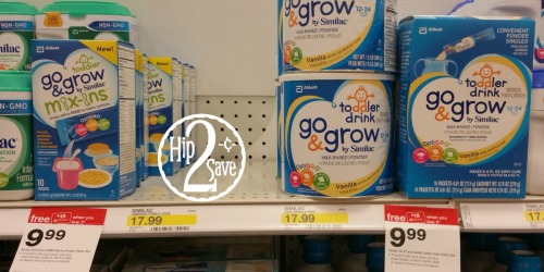 Target: Similac Go & Grow Toddler Drink Sticks & Mix-Ins Only $4.99 Each (After Gift Card)