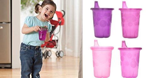 Amazon: The First Years Take & Toss Spill-Proof 4-Pack Sippy Cups Only $2.38 (Regularly $8.16)