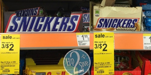 Score BIG Savings on Snickers Bars at Both Walgreens & CVS