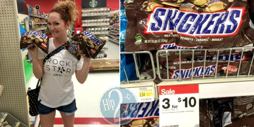 Snickers Candy Singles Just 39¢ at Target + More
