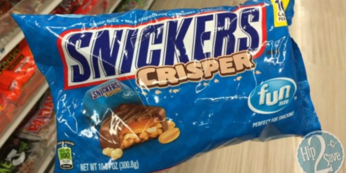 Walgreens: Snickers Crispers ONLY 75¢ Per Bag (Starting Tomorrow)