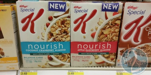Target: Kellogg's Special K Nourish Cereal Only 75¢ (After MobiSave)