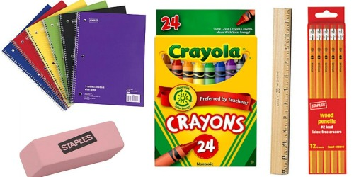 Staples: Back to School Deals Starting August 7th (FREE BIC Pens, 17¢ Notebooks & More)