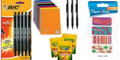 Staples: Back to School Deals Starting August 21st (FREE BIC Pens, 17¢ Notebooks & More)