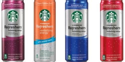 New $0.50/1 Starbucks Refreshers Beverage Coupon