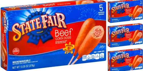 Target: State Fair Beef Corn Dogs Just $1.95 Per Box!