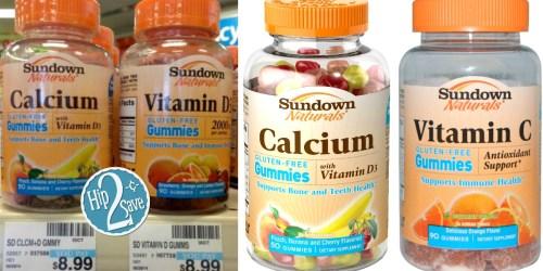 New $2/1 Sundown Naturals Gummy Vitamin Coupon = Just $2.50 Each at CVS (Reg. $8.99)