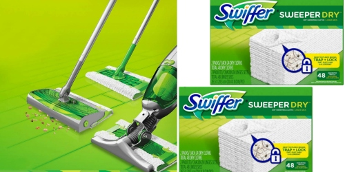 Target: Nice Deals on Swiffer Sweeper Dry Products