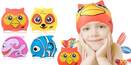 Amazon: Kid's Swim Caps As Low As $6.99 Each (+ Score Kid's Goggles Under $9)
