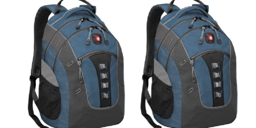 SwissGear Deluxe 16″ Laptop Backpack ONLY $29.99 Shipped
