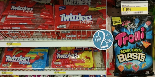 New 30% Off Twizzlers & Trolli Candy Cartwheel Offers = Only $1.18 Per Bag at Target