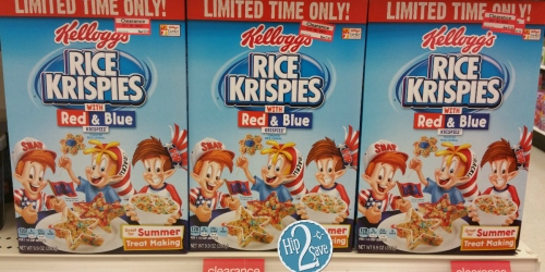 Target: Kellogg's Rice Krispies Cereal Possibly Only 64¢ Each (+ Watch for Target Coupon Booklet)