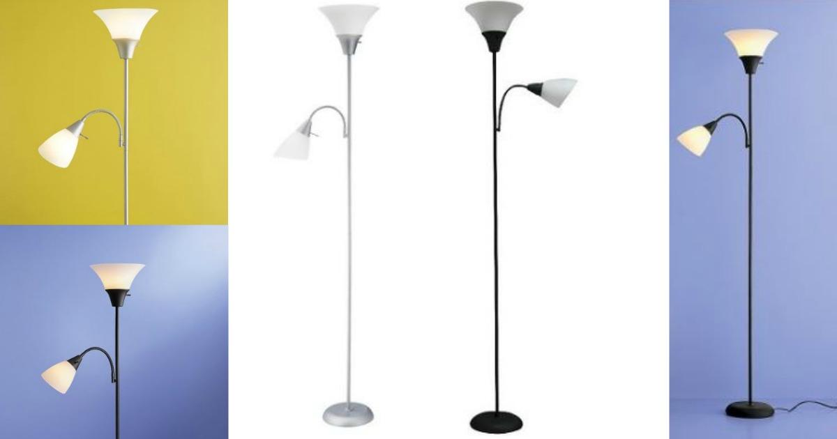 Target Floor Lamp W Task Light Only 7 17 Hip2save