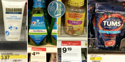 Target Cartwheel: New Personal Care Offers = Nice Deals on Crest Mouthwash, L'il Critters & More