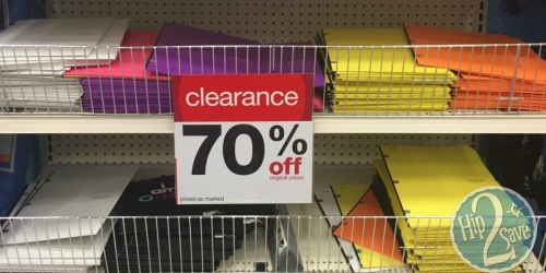 Up to 70% Off School Supply Clearance at Target