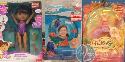Have You Checked Out The Target Toy Clearance? Save BIG on Dora, Star Wars & Much More!