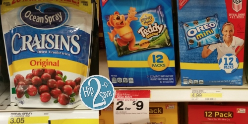 Target Cartwheel Grocery Offers = Nice Deals on Nabisco Multipacks, Old El Paso, Classico & More