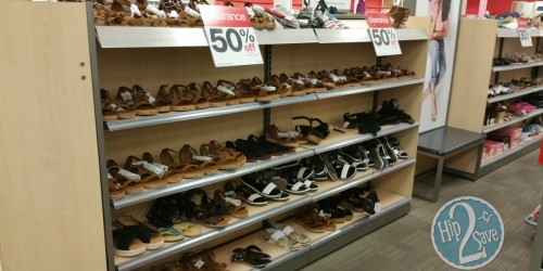 Up to 70% Off Summer Shoe Clearance at Target