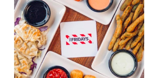T.G.I. Friday's: $10 Endless Appetizers are Back (Pick Your Favorite & Eat Until You Can't Eat Anymore)