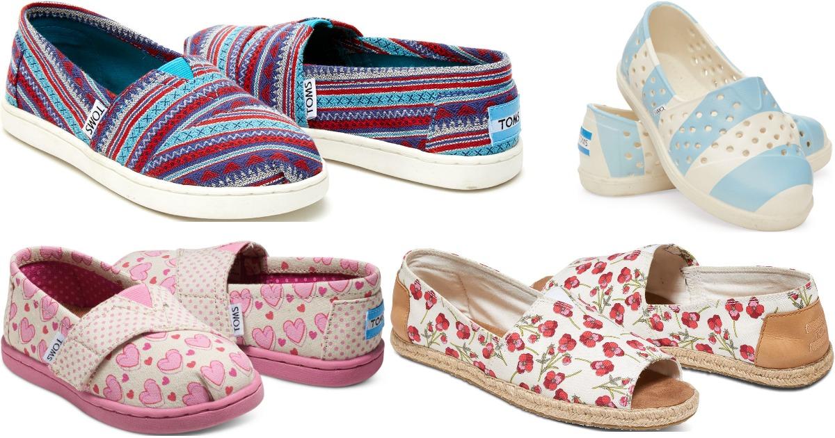 Order + 35% Off Sale \u003d Tiny TOMS Shoes