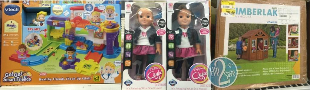 toys at Walmart