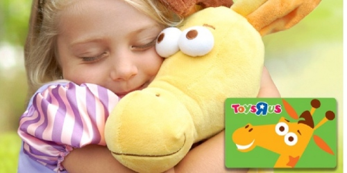 Groupon: $20 ToysRUs eGift Card Only $10 (Available for Select Email Subscribers Only)