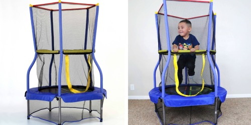 Walmart: Skywalker Bounce-N-Learn 40″ Trampoline with Enclosure Only $29 (Reg. $59)