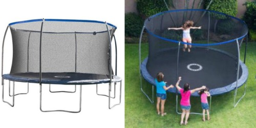 BouncePro 14′ Trampoline w/ Enclosure AND Bonus Game Only $209 Shipped (Regularly $319)