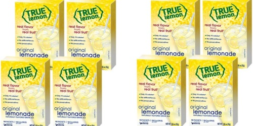New True Citrus Drink Mix Coupon = True Lemon Drink Mix Only 87¢ at Target