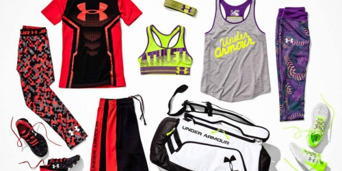 Under Armour Outlet: Deep Discounts on Tennis Shorts, Running T-Shirts, Tote Bags & More