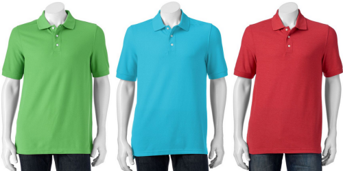 Kohl's Cardholders: Men's Polo Shirts ONLY $6.99 Shipped (Regularly $26)