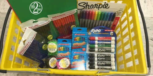 Office Depot/OfficeMax: 15 School Supplies for $5.12 (Including a Sharpie 12-Pack!)