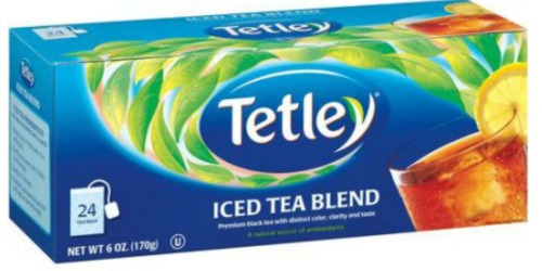 *NEW* $0.50/1 Tetley Iced Tea Coupon – No Size Restrictions