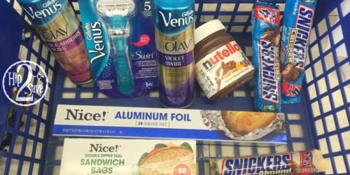 Walgreens Under $9 Deal Idea (Gillette Razor, Shave Gels, Nutella & MORE)