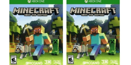 Minecraft Xbox One Edition Only $13.90