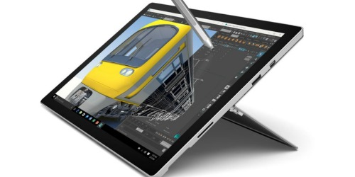 Microsoft 12.3″ Surface Pro 4 Multi-Touch Tablet Only $849 Shipped (Educators & Students Only)