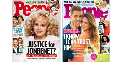 Score 15 FREE Issues of People Magazine