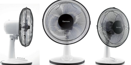 Sears: Kenmore 12″ Table Fan Only $19.99 + Earn $15.20 Shop Your Way Points