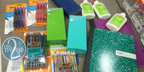 Office Depot/OfficeMax Shoppers! Score a Whoppin' 12 School Supplies for Only $1.60…