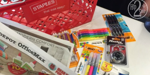 Staples Price Match Deals: FREE BIC Pens & Mechanical Pencils + More *HOT* Buys