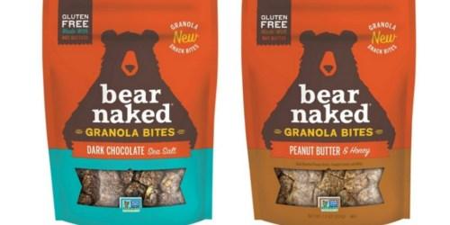 *NEW* $0.75/1 Bear Naked Granola Bites Coupon = Only $1.40 at Target (Regularly $3.99)