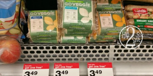 Target: Go Veggie Cheese Slices Only 75¢ (After Cash Back)