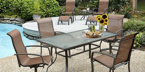 Kmart.com: 10-Piece Outdoor Dining Set Only $180 (Regularly $599.99)