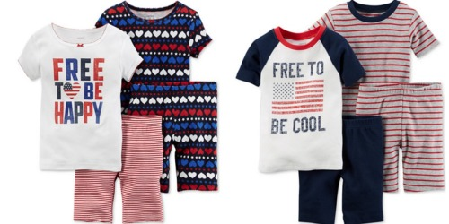 Macy's: Extra 20% Off Clearance Clothing = Carter's 4-Piece PJ Sets As Low As $5.99 (Reg. $34) + More