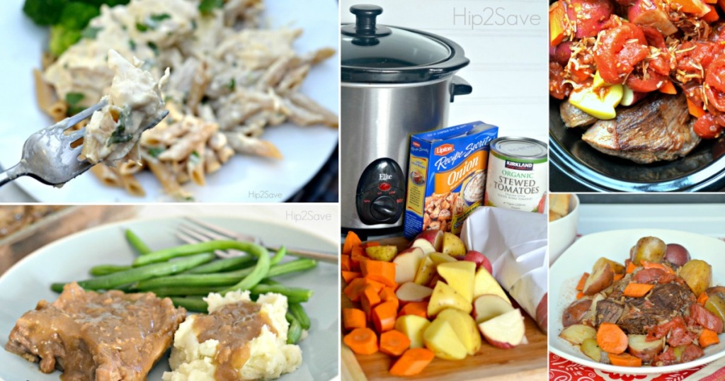 Slow Cooker Recipes Roundup