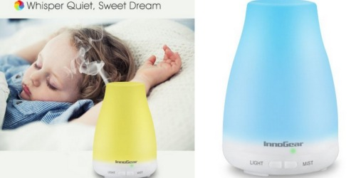Amazon: 3 Great Buys on InnoGear Essential Oil Diffusers (As Low As ONLY $12.74)