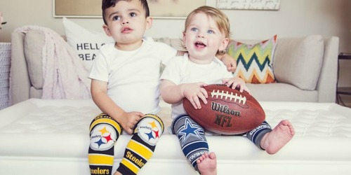 5 Pairs of Baby Leggings Only $14.99 Shipped (Just $3 Per Pair) – New NFL Leggings & More