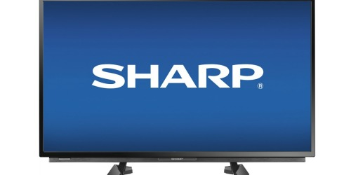 Best Buy: Sharp 32″ LED HDTV Only $149.99 Shipped (Just $129.99 for College Students)