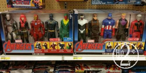 Target: Civil War Titan Hero Action Figure 5-Packs Only $26.99 (Regularly $44.99)